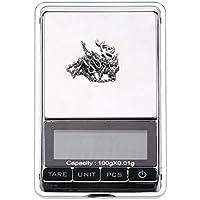 Mini portatile scala gioielli tasca bilancia elettronica digitale LCD retroilluminazione