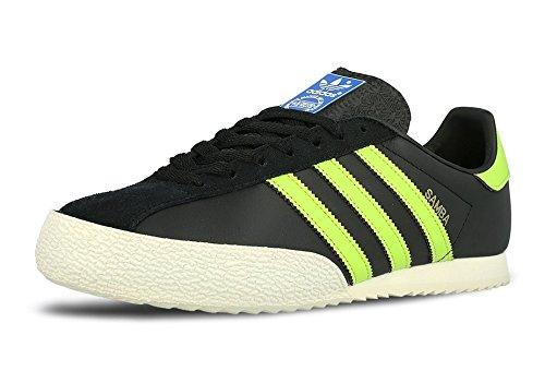 ADIDAS ORIGINALS SAMBA SPZL S75958 SPEZIAL SNEAKER Farbe: cblack/sslime/goldmt (45 - Luxus-sneakers