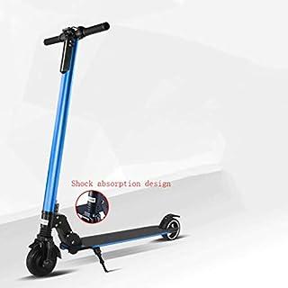 Scooter AP Elektroroller Elektroscooter Max Geschwindigkeit bis zu 25 km/h faltbar bis zu 35 km Reichweite LED - Anzeigeleuchte 24 V - Akku Tritt - Roller Aluminiumlegierung Blau