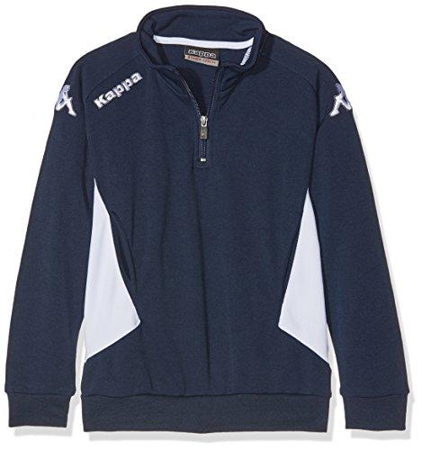 Kappa Herren Sweatshirt marineblau / weiß
