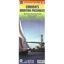 Canada's Maritime Provinces 1 : 530 000: Nova Scotia, New Brunswick, P.E.I (International Travel Maps)