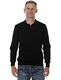 367613ce98f UGHOLIN - Pull col Polo - Homme - 100% Laine Mérinos