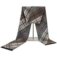 Xiaoyu scarf Bufanda otoño e Invierno Moda Bufandas de los Hombres de algodón Bufanda Caliente (Color : C)