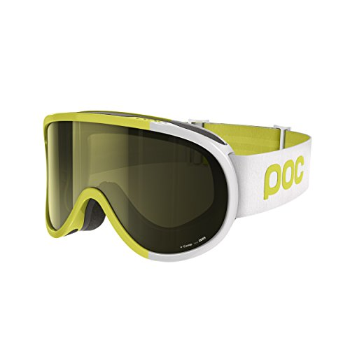 POC Retina Comp Casco da Sci, Hexane Yellow, Taglia Unica
