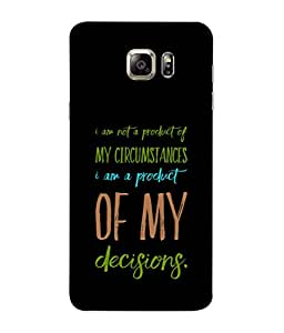Fuson Designer Back Case Cover for Samsung Galaxy S6 G920I :: Samsung Galaxy S6 G9200 G9208 G9208/Ss G9209 G920A G920F G920Fd G920S G920T (Thinking Decisions Circumstances Products)