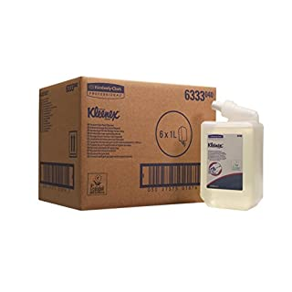Kleenex Handreiniger für die häufige Verwendung 6333, transparent/parfümfrei, 6 x 1 l (6 l gesamt)