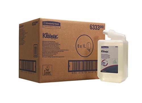 Kleenex 6333 Sanfte Waschlotion, Transparent, 6 1-l-Nachfüllkassetten