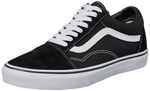 Vans Unisex Adults Old Skool Classic Suede Canvas Sneakers 488048a01fd5