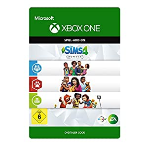 The Sims 4: Bundle – Cats & Dogs, Parenthood, Toddler Stuff DLC | Xbox One – Download Code