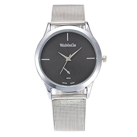 Femme montre, Fuibo 2017nouveaux Mode femelle horloges montre à quartz de luxe Femme en maille Sangle montre E
