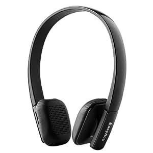 EasyAcc® Wireless Bluetooth V3.0 Stereo Headset / Kopfhörer mit Mikrofon - inkl. Freisprecheinheit für iPhone, Samsung und alle Android (iOS, Windows Phone) bluetoothfähigen Geräte - Farbe: Schwarz