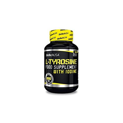 Biotech USA L y Tyrosine 500 Mg Aminoácido - 1000 gr
