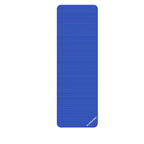 Trendy Sport ProfiGymMat, Trainings- und Therapiematte, 180 x 60 x 2,0 cm, blau (Feuchtigkeit Wasser-therapie)
