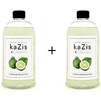 Kazis Duft-Set Bergamotte I Passend für Alle katalytischen Lampen I 2 x1 Liter I Nachfüll-Öl I 2 x 1000 ml I 2... preisvergleich bei billige-tabletten.eu