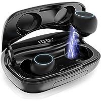 iPosible Écouteurs Bluetooth 5.0 Écouteur sans Fil 3500mAh TWS IPX7 Oreillette Bluetooth Léger Stéréo Boîte de Charge 120H Réduction du Bruit CVC 8.0 Casque Sport pour Tous smartphones tablettes etc
