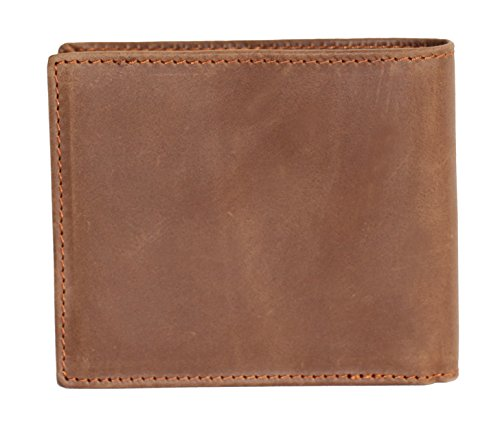 Langwolf Brieftasche Geldbörse Portmonee Portemonnaie Geldbeutel Börse Nubukleder Rindsleder Reißverschluß echtes Leder hochwertig 8056 (Beige)