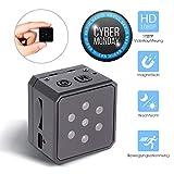Mini Kamera, Hueliv 1080p HD Tragbare Spion Kamera, Nanny Cam, Sports DV mit Nachtsicht, Bewegungsmelder, unterstützt 32GB SD Karte, für Innen und Außen Überwachungskamera