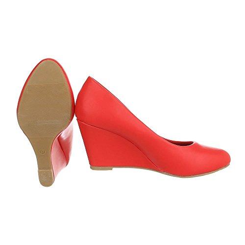 Ital-design - Chaussures À Plateforme Pour Femme Ek-96
