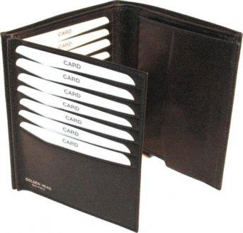 Golden Head Colorado Trend Men's wallet 1230-05-7 Dunkel Marrone