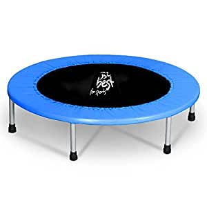 best for sports trampolin mit t v intertek und gs zertifikat 96 cm indoortrampoline bis 120 kg. Black Bedroom Furniture Sets. Home Design Ideas