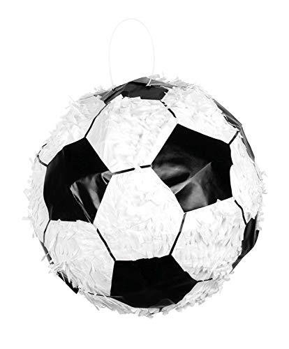 Boland 30943 Pinata Fußball, weiß/schwarz