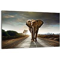 Cuadro sobre lienzo - de una sola pieza - Impresión en lienzo - Ancho: 120cm, Altura: 80cm - Foto número 0214 - listo para colgar - en un marco - AA120x80-0214