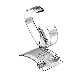 Rekkles Ornament Clear Acrylic Bracelet Watch Display Holder Stand Rack Showcase Bangle Wristband Holder Stand Organizer