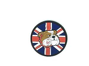 Bulldog anglais Union Jack pour Airsoft Patch