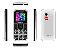 2017 ZANCO EASYFONE 2 Big Button Easy to use Senior / Pay as you go / Pre-Pay / PAYG / Mobile Phone / SOS button and large easy to read Display WHITE sold by mobile centre