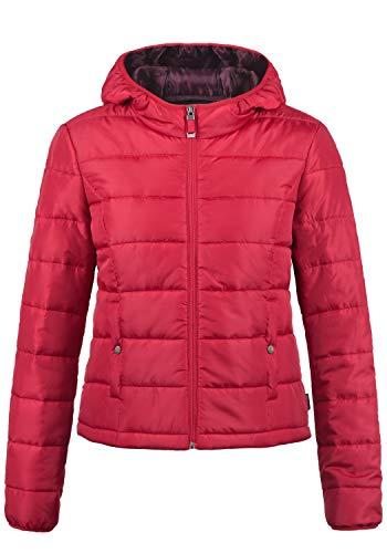 Vero moda outerwearvero moda pamela giacca trapuntata giacche trapuntata di mezza stagione da donna con cappuccio, taglia:s, colore:chili pepper