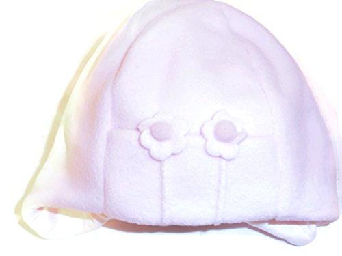 Pex Flower Fleece Mütze-Pink - Pex-cap