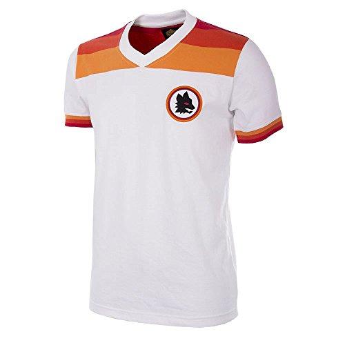 Copa AS Rom Retro Trikot 1978/1979 Away weiß, L