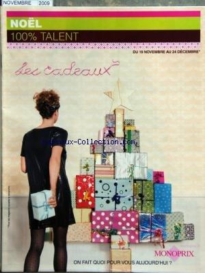 monoprix-du-19-11-2009-noel-100-pour-cent-talent-les-cadeaux