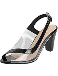 Mochi Women Synthetic Sandals (40-2014)