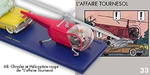 Hélicoptère rouge de l'Affaire tournesol. Tintin. Atlas. #4_. Moulinsart. Hergé