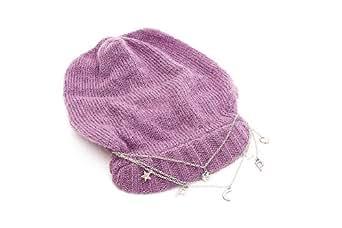 PATRIZIA PEPE - Bonnet -  Homme Violet Pink/Purple