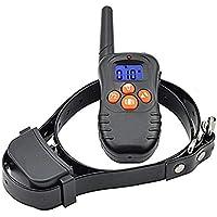 Havenfly Kein Schockhalsband für Hunde, wasserdicht und aufladbar Fernhundehalsband mit Vibration/Licht / Piep für alle Größen Hunde, Blind Operation, Reichweite bis zu 300yd