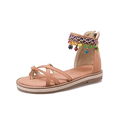 Summer Sandale Épais Chaussures Confortable Femmes Perlée New Bas 3R4Aq5jL