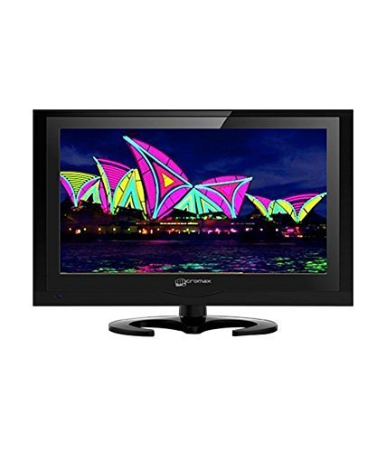 Micromax 20B22HD-A 51 cm (20 inches) HD Ready LED TV (Black) with Dish TV TruHD (Free Recorder) + 1 Month Subscription + 1 Year Onsite Warranty