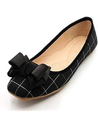 YMFIE Abbinamento di colore a punta in stile europeo abbinabile a scarpe comode, sandali con tacco alto da donna, scarpe da lavoro tacco alto,…
