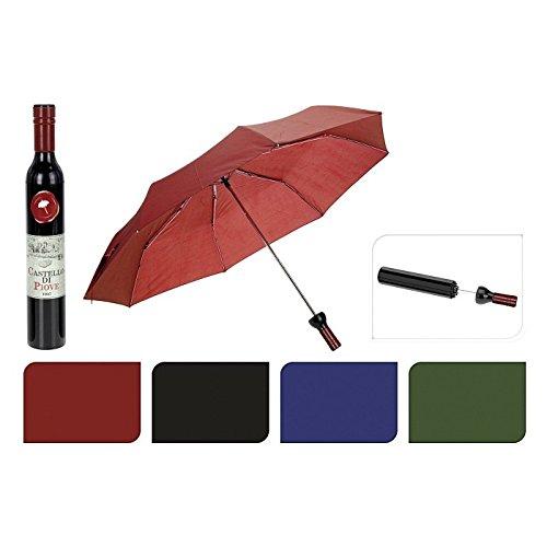Ombrello bottiglia di vino vari colori ombrelli a forma di bottiglie