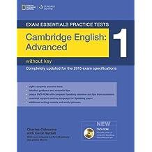 Exam Essentials: Cambridge Advanced Practice Tests 1 w/o key + DVD-ROM (Exam Essentials Practice Tests)