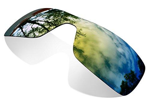 sunglasses restorer Kompatibel Polarisierte Ersatzgläser Gold 24K für Oakley Oil Rig