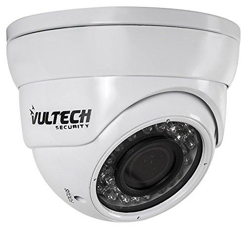 VulTech Security CM-DM960AHDV-B Telecamera, Dome, Varifocale, AHD,