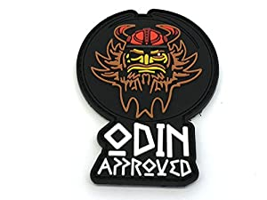 Odin Approuvé Viking Paintball Airsoft PVC Moral Patch