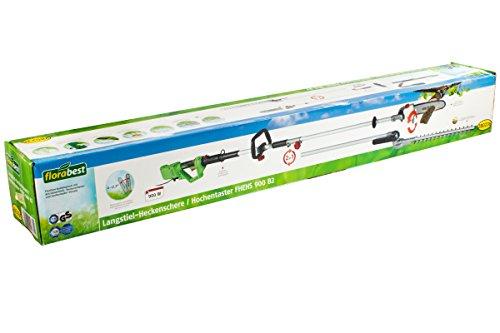 Florabest® Langstiel Heckenschere Hochentaster FHEHS 900 B2 Gartenschere 2 in 1