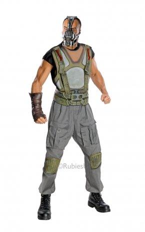 Erwachsene Herren Deluxe Bane Kostüm für Superheld DC Bösewicht abgebildet Fancy Kleid Brust: 96,5-101,6cm Taille: 81,3-91,4cm Bein: 81,3cm Medium (Dc Bösewichte Kostüm)