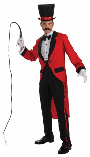 Circus Ring Master Tailcoat Costume Adult ()