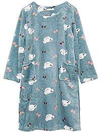 Mmllse Nouveau Pyjamas Pansement en Corail Dormir Vêtements De Nuit Mignons  De Vêtements De Nuit Vêtements 575a3d1f972