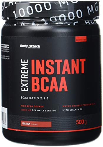 Body Attack Instant BCAA Extreme, Ice Tea (1 x 500 g)
